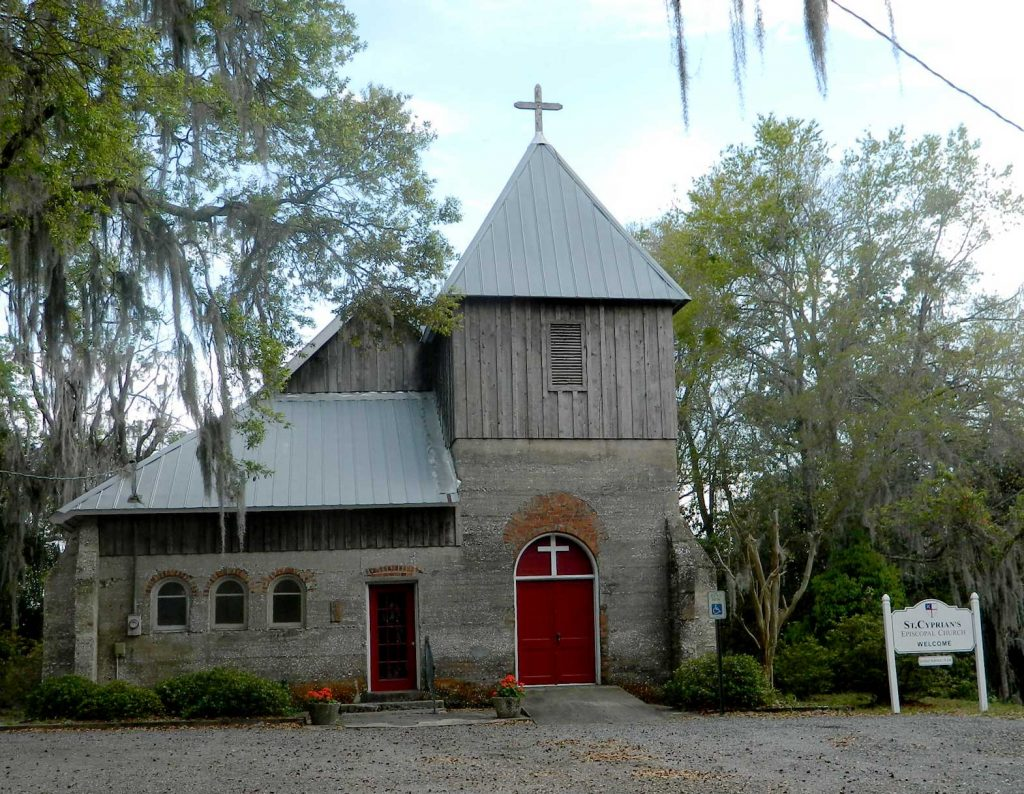 St. Cyprians Episcopal Church in Darien GA