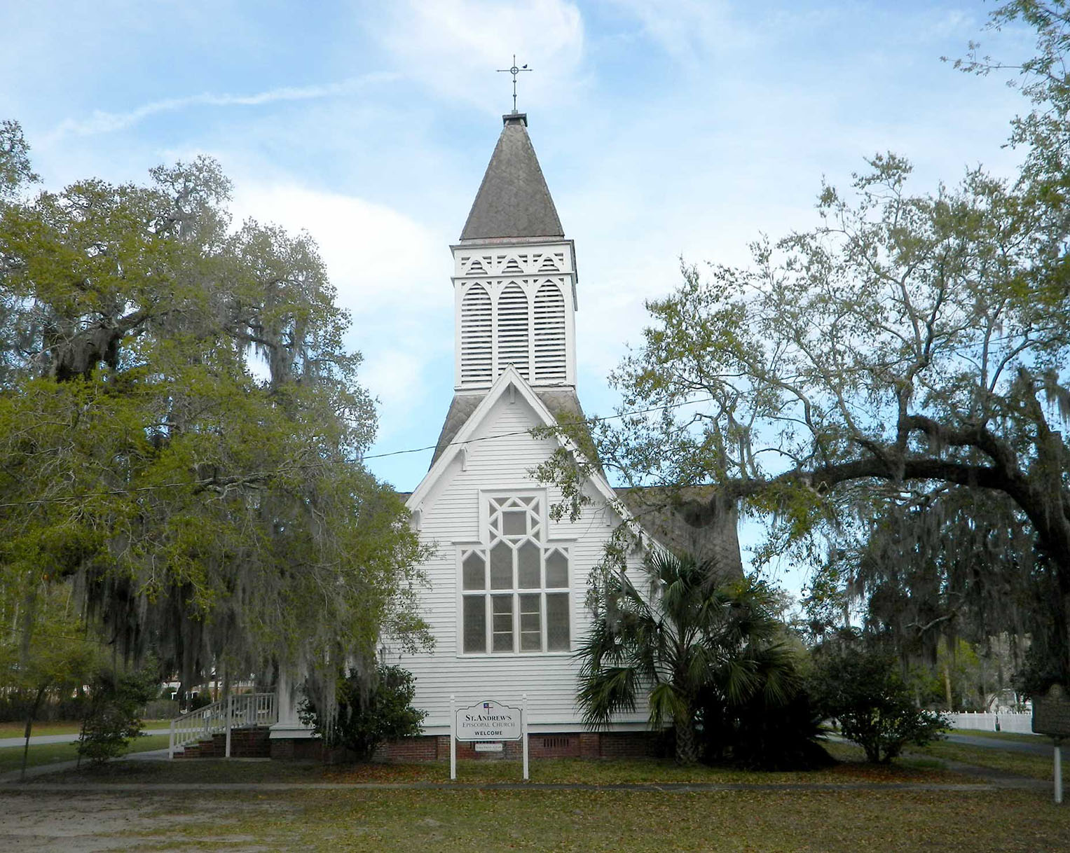 St. Andrews Episcopal Church in Darien GA
